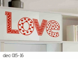 Vinilo Decorativos LOVE