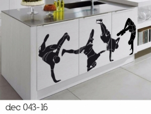 Vinilo Decorativos break dance