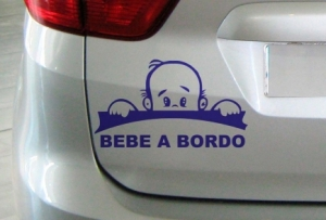Vinilo Stickers Bebé a bordo 2